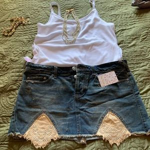 A cute free people skirt !